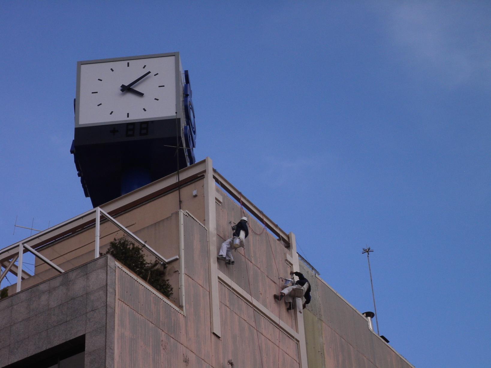 Trabajos verticales fachada